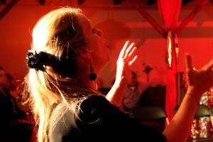 Dirigent Caroline Gerrits